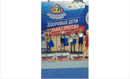Юный бердчанин завоевал бронзу в региональном турнире по греко-римской борьбе