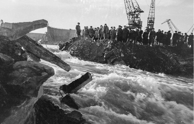Новосибирской ГЭС исполнилось 60 лет