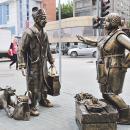 Памятник челноку на рынке Бердска вошел в рейтинг необычных