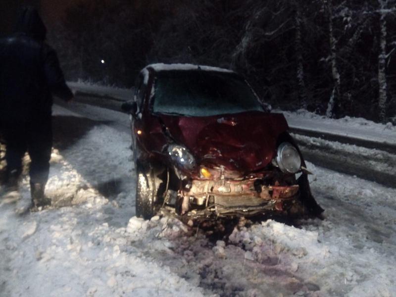 На Куйбышевском шоссе столкнулись Дэу Матиз и Газель, есть пострадавшие
