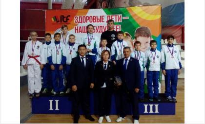 Юные бердчане успешно выступили на турнире по тхэквондо в Улан-Удэ
