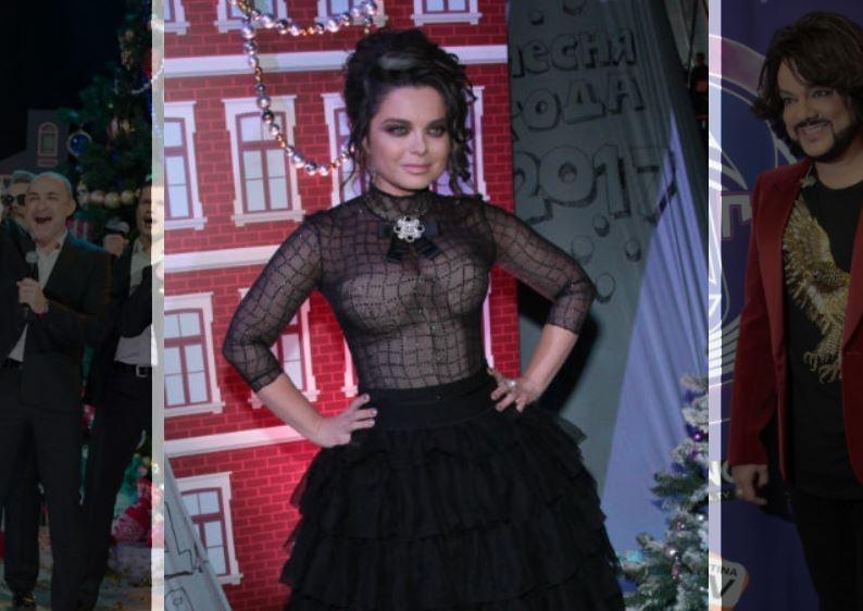 Наташа Королева пришла в прозрачном платье на «Песню года»