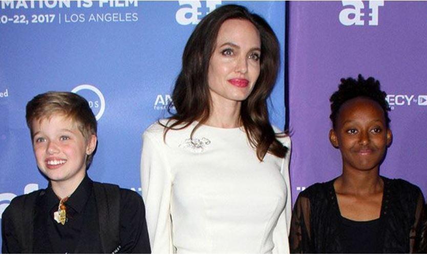 Вес Анджелины Джоли меньше веса ее 11-летней дочери