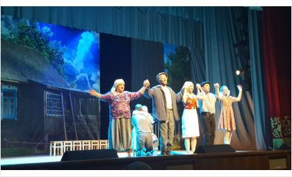 Спектакль «Любовь и голуби» в исполнении театра «Лестница» впечатлил бердчан