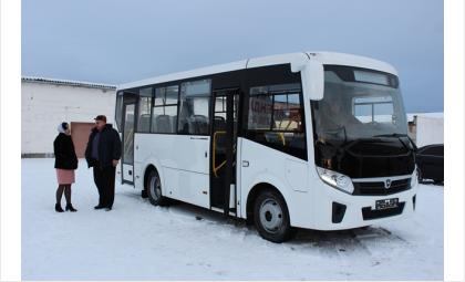 В Искитиме к Новому году - новый автобус