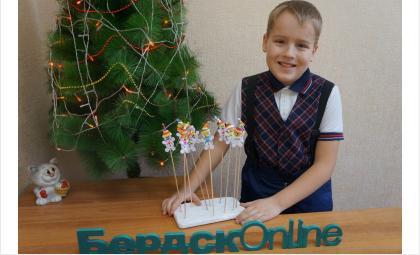 Снеговички участвовали в благотворительной акции в Бердске
