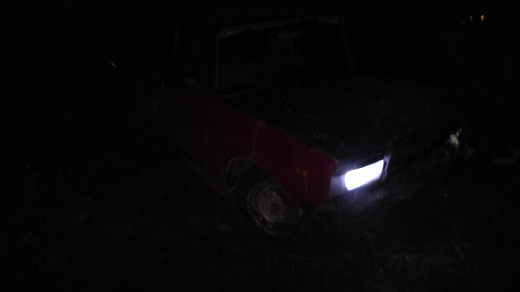 На трассе под Рязанью пьяный подросток за рулем «семерки» вылетел в кювет
