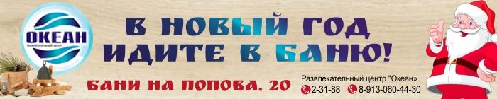 С Новым 2018-м годом, Бердск!