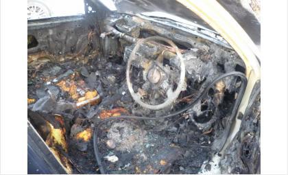 Сгорел в Бердске стоявший на автозапуске автомобиль