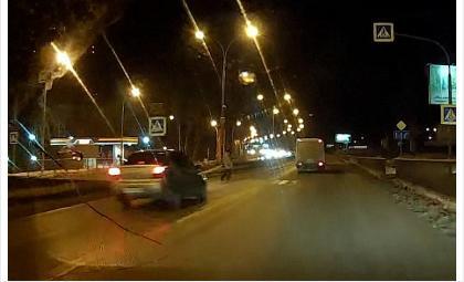 Видеорегистратор: Именно на «зебре» 23 ноября сбит пенсионер у пос. Геологов