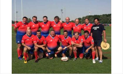 Бердчане в составе сборной России сыграли в регби на международном турнире