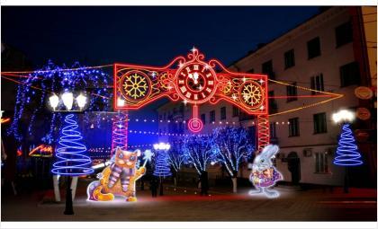 На какие средства УК Бердска украсят фасады зданий к Новому году?